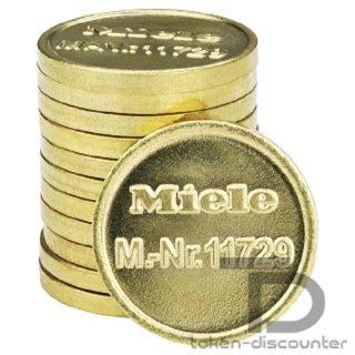 Miele token WM8, 100 pieces