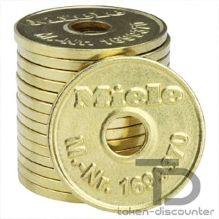 Miele Token WM2, 1699370, 100 pieces